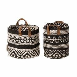 Miniature Woven Baskets Set
