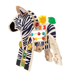 Safari Zebra Activity Toy