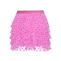Pink Tulle Polka Dot Skirt 6