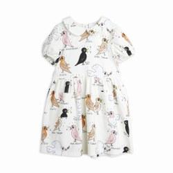 Birdwatching Puff Dress 8/9Y