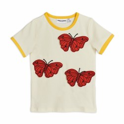 Butterflies Ringer Tee 12-18M
