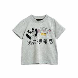 Cat & Panda SS Tee 4/5Y