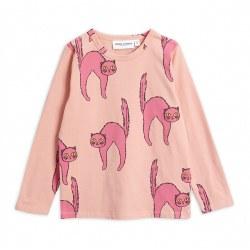 Catz LS Tee Pink 12-18M