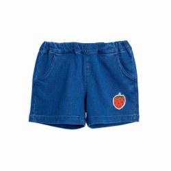 Denim Strawberry Shorts 8/9Y