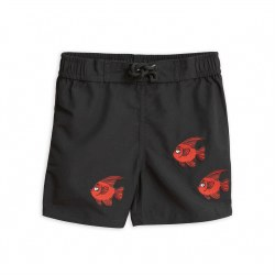 Fish Swimshorts Black 12-18M