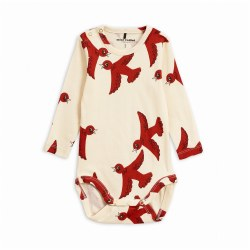 Flying Birds Onesie OffW 3-6M