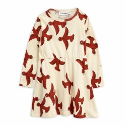 Flying Birds Dress OffW 8/9Y