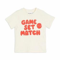 Game Set Match Tee 12-18M