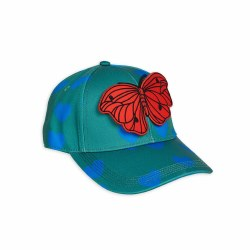 Hearts Butterfly Cap 6-12M