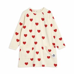 Hearts Tencel LS Dress 4/5Y