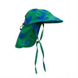 Hearts Sun Cap Green 12-18M