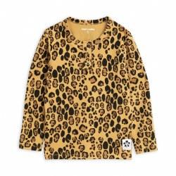 Leopard Tencel Gpa Tee 4/5Y
