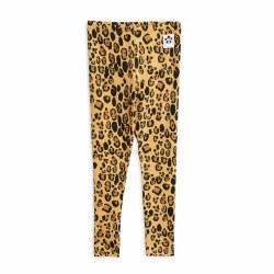 Leopard Tencel Legging 2/3Y