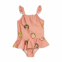Monkeys Skirt Swimsuit 2/3Y