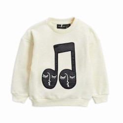 Note Patch Sweatshirt 2/3Y
