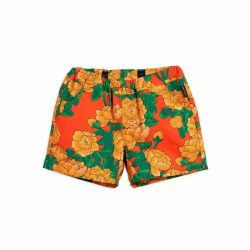 Peonies Woven Shorts 4/5Y