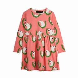 Polar Bear AOP LS Dress 8/9Y