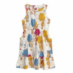 Seahorses Flounce Dress 2/3Y