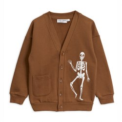 Skeleton SP Cardigan Brown 8/9