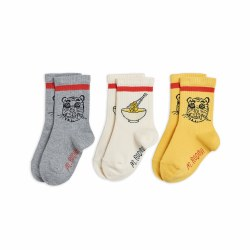 Tiger 3 Pack Socks 1-2Y