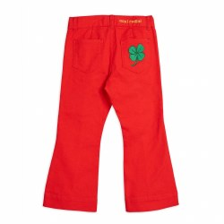 Twill Clover Jeans Red 4/5Y