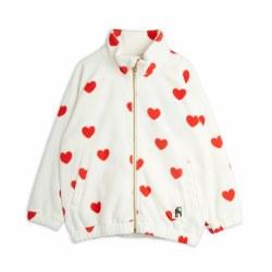 Hearts Fleece Jacket 2/3Y