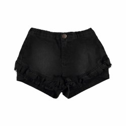 Agnetha Short Washed Black 10