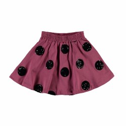 Barbera Sequin Dot Skirt 3/4
