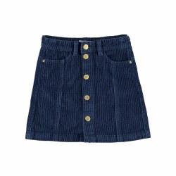 Bera Skirt Blue Daisy 3/4