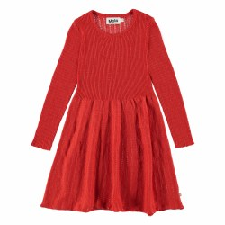 Cameron Dress Vermillion 2/3