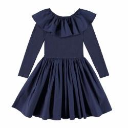 Cilly Dress Peacoat 3/4