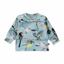 Eloy LS Baby Tee Birds NB