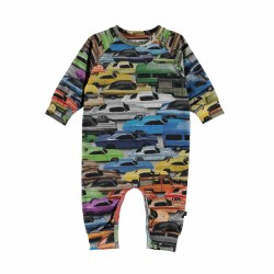 Fairfax Romper Cars 9M