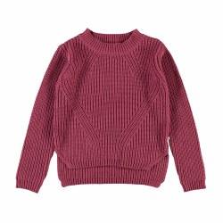 Gillis Sweater Raspberry 3/4