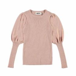 Glenda Sweater Rose 3/4