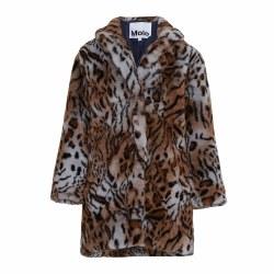 Haili Faux Fur Coat Wild 4
