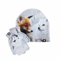 Kaya Hat/Glove Set Fox M/L