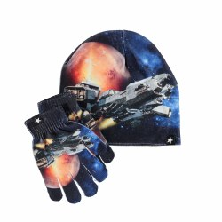 Kaya Hat/Glove Set Space M/L