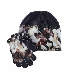 Kaya Hat/Glove Set Unicorn S/M