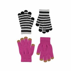 Kei Glove Set Wild Pink 4-10Y
