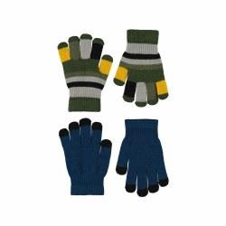 Keio Glove Set Sea 4-10Y