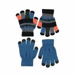 Keio Glove Set Blue 4-10Y