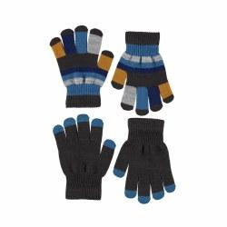 Keio Glove Set Brown 4-10Y