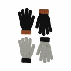 Kello Glove Set Warm Gry 8-16Y