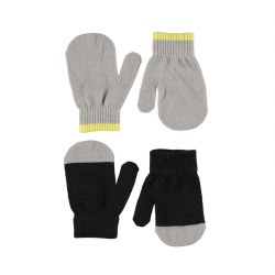 Ketty Mitten Set Black 0-3Y