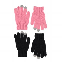 Kyra Glove Set Pink 8-16Y