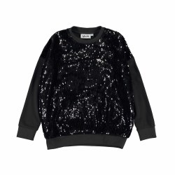 Mitha Black Sequin Top 3