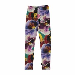 Niki Leg Velvet Floral 4