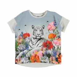Raeesa Tee Flower Tiger 4