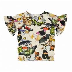 Rayah Ruff Slv Top Papillon 12